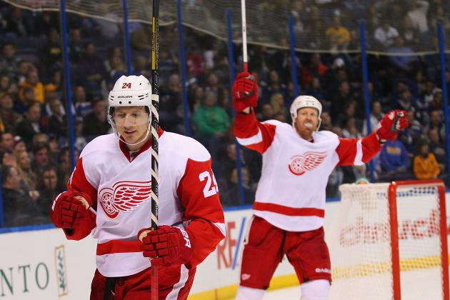 Los Angeles Kings vs. Detroit Red Wings: Live Score, Updates and Analysis