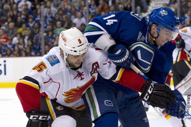 Calgary Flames Get Thumped in 5-1 Loss to Vancouver Canucks