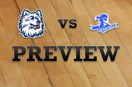 Connecticut vs. Seton Hall: Full Game Preview