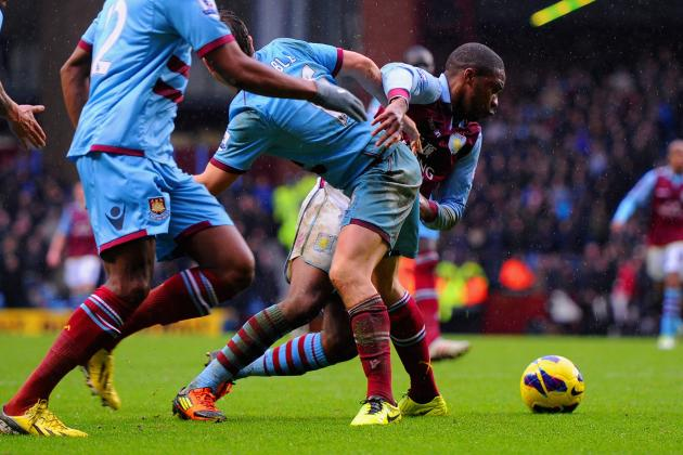 Aston Villa 2-1 West Ham: N'Zogbia Stunner Pulls Hosts out of Drop Zone