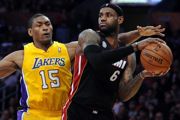 Los Angeles Lakers vs. Miami Heat: Live Score, Results and Game Highlights