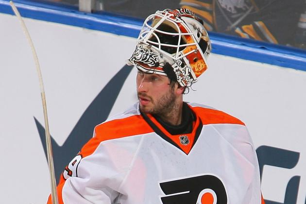 Michael Leighton out 7-10 Days with Upper Body Injury