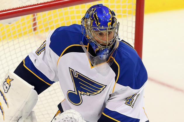 Blues Activate Halak from Injured Reserve