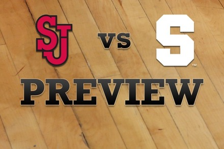 St John's vs. Syracuse: Full Game Preview