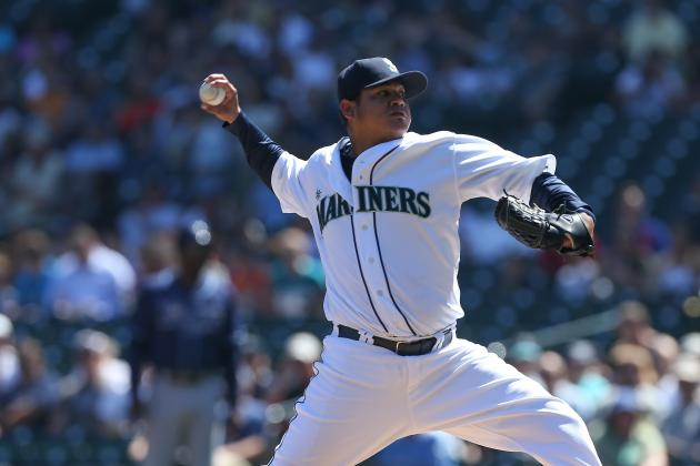 Concern over Felix Hernandez's Elbow Could Halt Extension