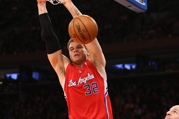 VIDEO: Blake Griffin Soars Against the Knicks