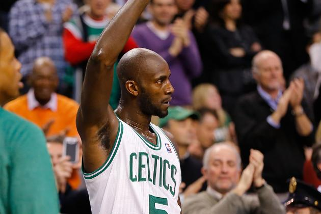 Kevin Garnett Responds to Trade Rumors: 'I Know My Cards'
