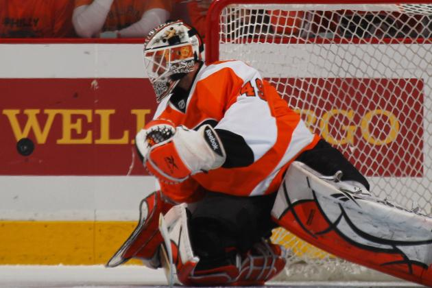 Flyers Michael Leighton Injured, Brian Boucher Re-Joins Team