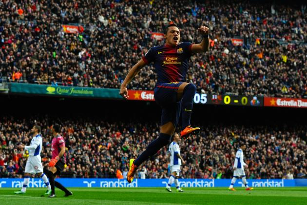 Barcelona vs. Getafe: Alexis Sanchez's Emergence a Great Sign for Barca