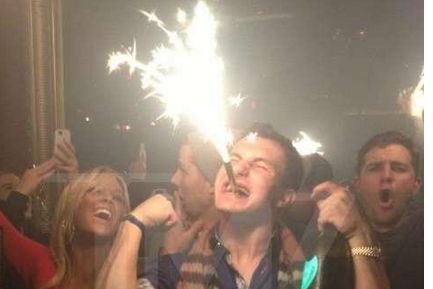 PHOTO: Johnny Manziel Parties at Mardi Gras
