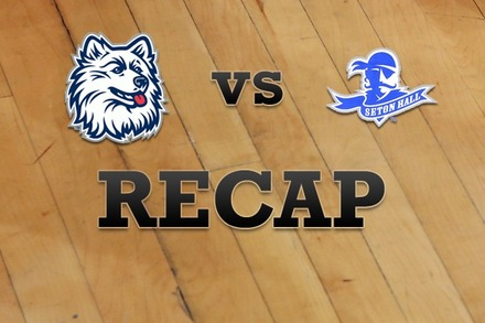 Connecticut vs. Seton Hall: Recap, Stats, and Box Score