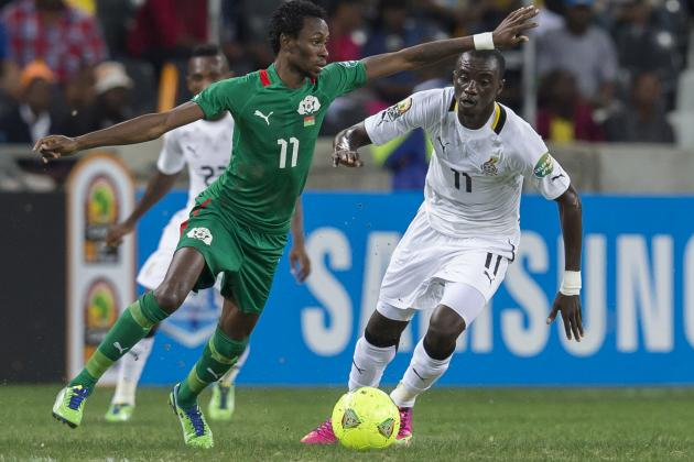 Nigeria vs. Burkina Faso: Jonathan Pitroipa Deserved to Win 2013 AFCON MVP Award