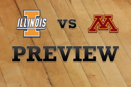 Illinois vs. Minnesota: Full Game Preview