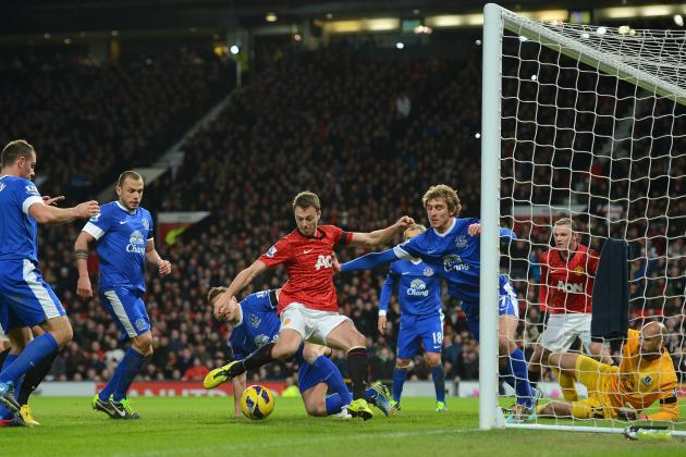 EPL: Man Utd 2-0 Everton: Is Top-4 Getting out of Reach for Toffees?