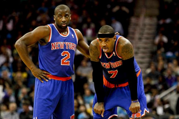 Carmelo Anthony Is Reaping the Benefits of Raymond Felton's Return