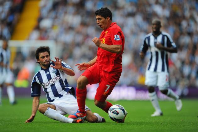 Liverpool 0-2 West Brom: Gerrard Misses Penalty, Reds Lose Late on to WBA