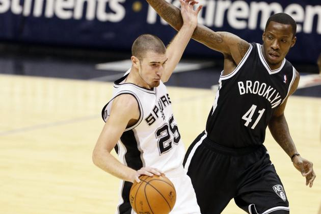 NBA Gamecast: Spurs vs. Nets
