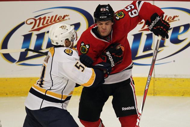 Chicago Blackhawks vs. Nashville Predators: GameCast