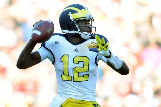 Michigan Football: Development of Devin Gardner Will Be Critical for Wolverines