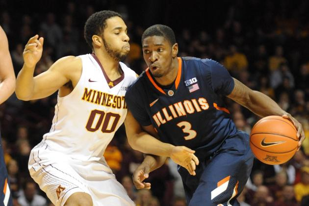 Griffey, Illini Cap Big Stretch, Knock off Gophers