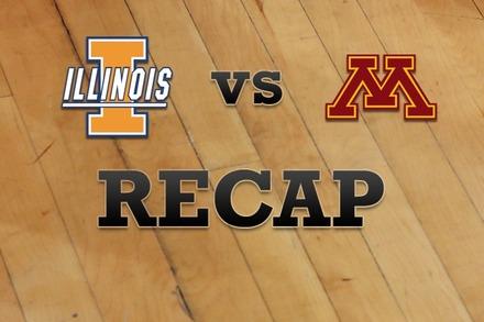 Illinois vs. Minnesota: Recap, Stats, and Box Score