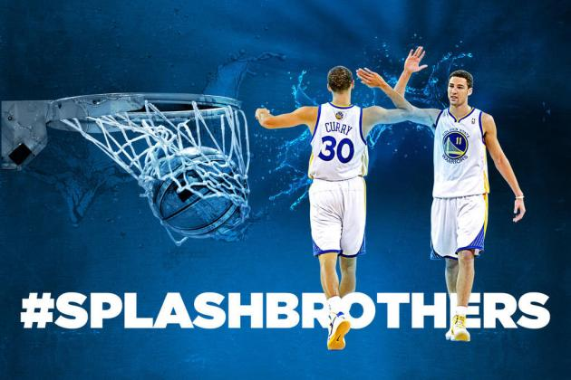 Steph Curry and Klay Thompson Backcourt Will Be Warriors' Best Ever