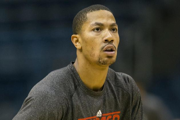 Injured Bulls Guard Derrick Rose 'Right Where He Should Be'