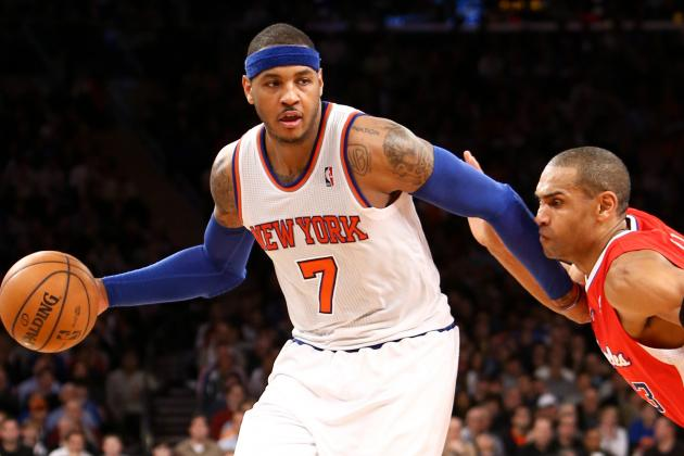 When Anthony's Output Shrinks, So Does Knicks' Margin for Error