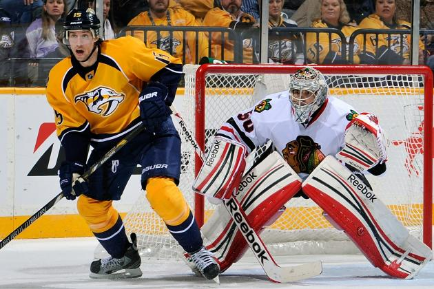 Blackhawks 3, Predators 0