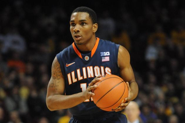 Richardson Helps Unranked Illinois Rally Past No. 18 Minnesota 57-53