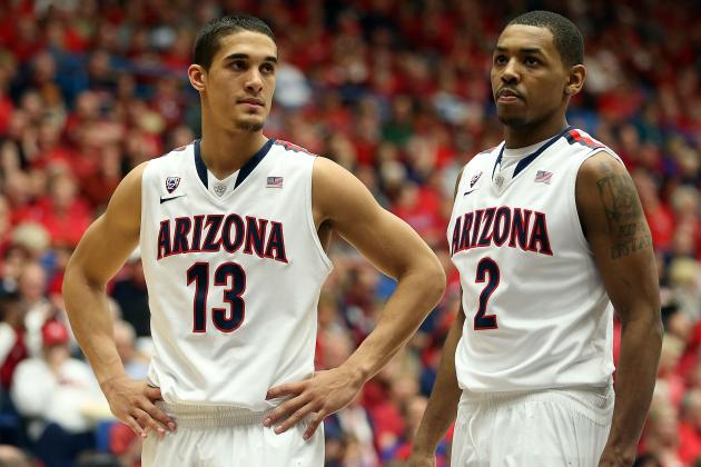 No. 7 Arizona Falls 77-69 to Cal at Home
