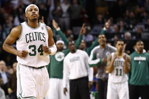 The Cold Truth: Paul Pierce Leads Celtics to 7th Straight