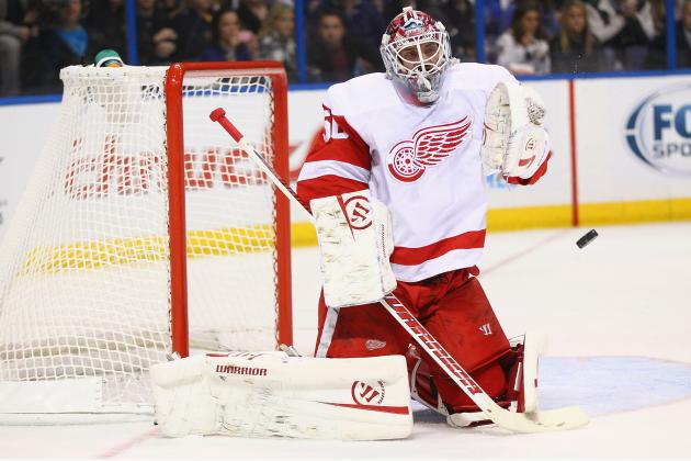 Red Wings Goalie Jonas Gustavsson Might Finally Be Showing Some Progress