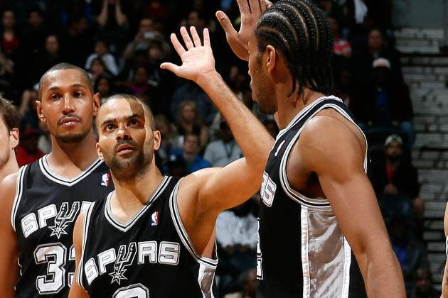 Spurs Defense Guides Team to Blowout in Brooklyn over Nets