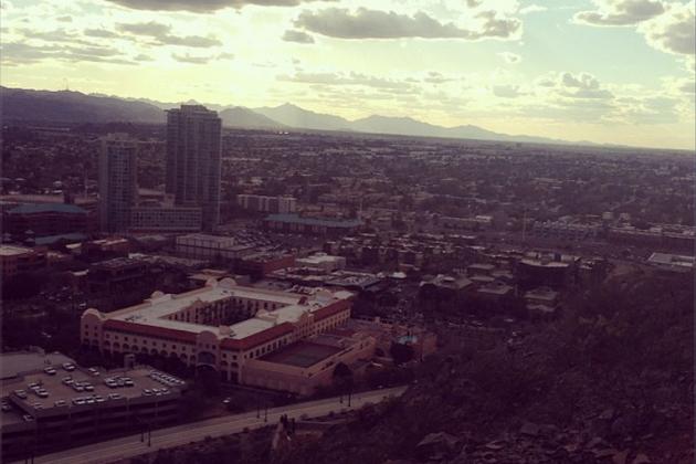 Instagram: Brett Anderson Is in Arizona