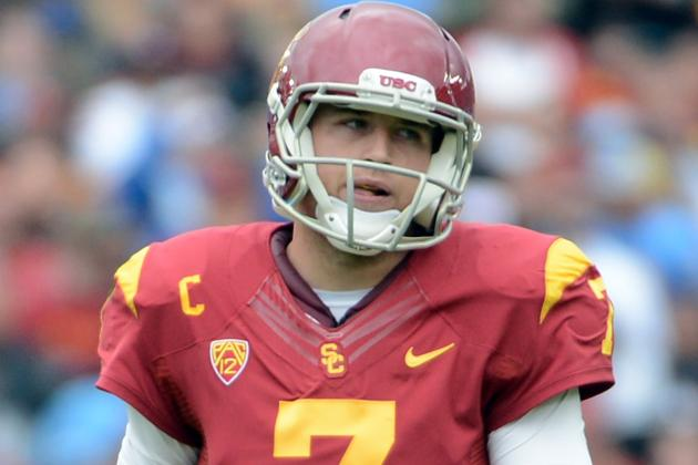 USC QB Matt Barkley Seeks Validation at NFL Combine