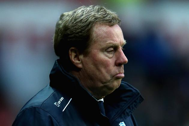 Harry Redknapp Counting on Late QPR Push in Fight for Survival