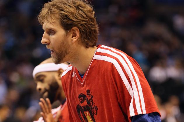 Nowitzki Doesn't Expect a Big Deal at the Trade Deadline