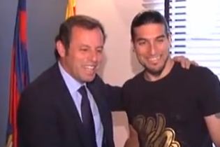 Pinto Signs Until 2014 with His Hopes Intact