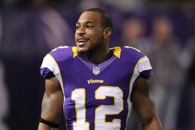 New England Patriots Should Go After the Vikings' Percy Harvin