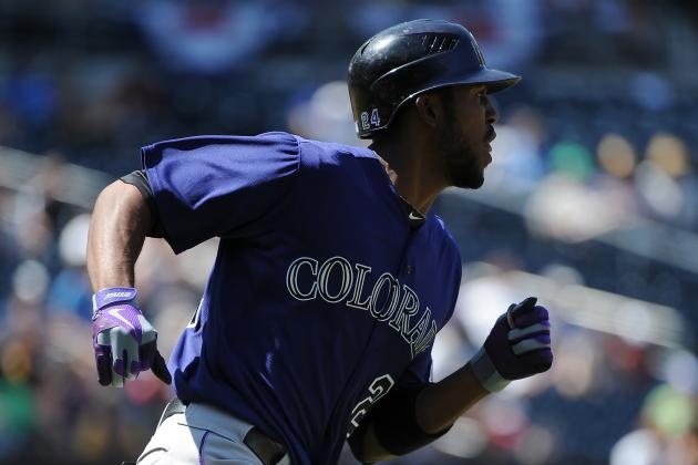 Dexter Fowler, Michael Cuddyer Happy to Be Rockies After Trade Talk
