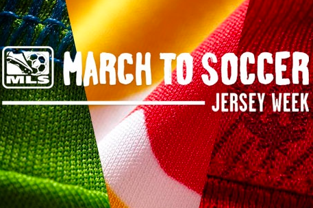 MLS Unveils Jersey Week for Clubs Releasing New 2013 Kits