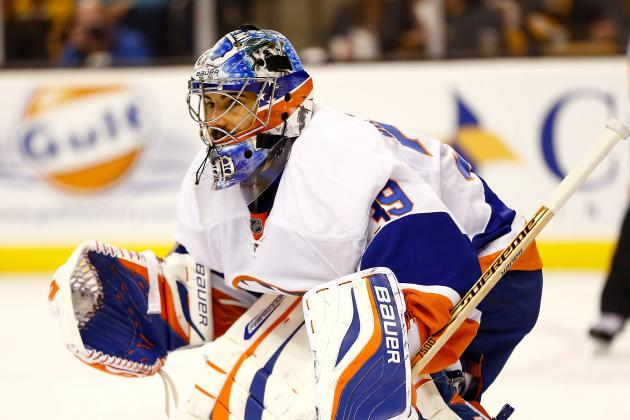 DiPietro Gets 2nd Start Monday vs. Hurricanes