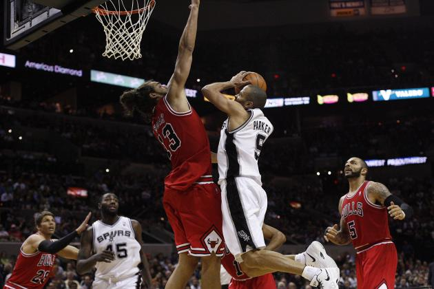 Bulls Make Quick Pit Stop at Home to Face Spurs