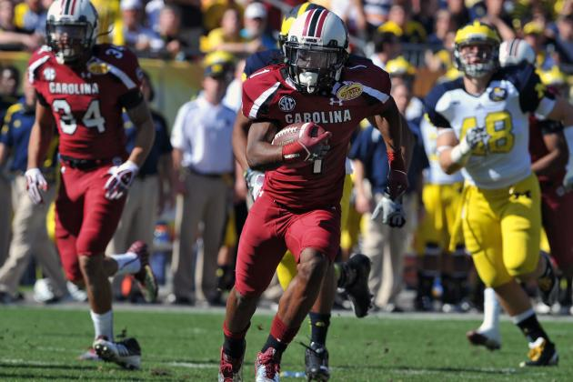 Washington Redskins Potential 2013 NFL Draft Radar: Ace Sanders
