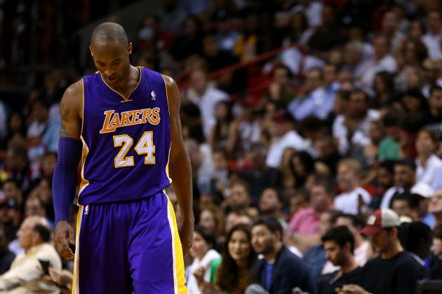 Kobe Bryant Is Helpless During Most Frustrating Season of His Legendary Career