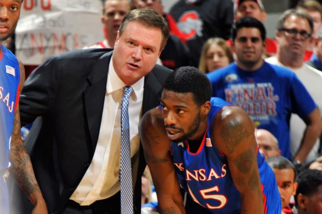 Bill Self Hopes Team Plays with Freedom Tonight Against Kansas State