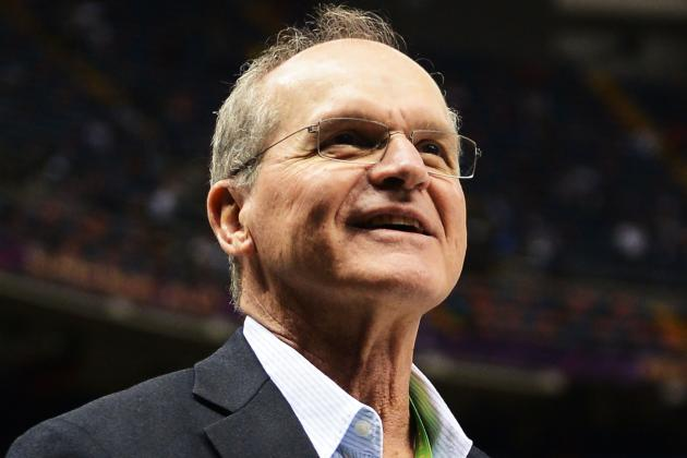 Jack Harbaugh Not Getting Involved in Debating No-Call