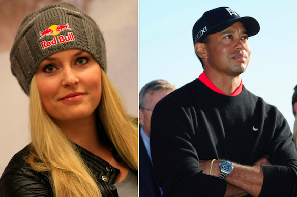 Reports Again Link Tiger Woods and Lindsey Vonn