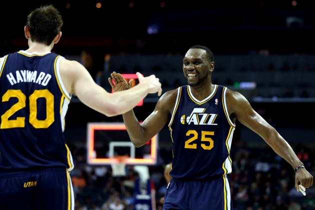 Jazz Stars Al Jefferson and Gordon Hayward Reportedly Drawing Interest from Suns